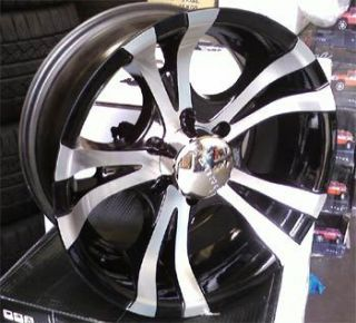 Akuza 359 17x8 5x139 7 Black 06 Dodge Trucks 1 Rim