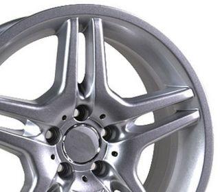 17 Rim Fits Mercedes AMG Style Wheel Silver