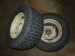 Sovereign 7016 Tractor Carlisle 23x10 50 12 Rear Tires Rims