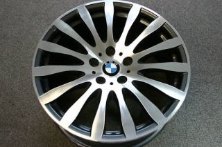 BMW 19 Staggered Radial Spoke Wheels Rims for 5 6 7