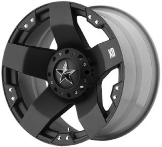 18 XD Rockstar Wheels 35 General Grabber Tires Chevy Dodge Jeep Ford