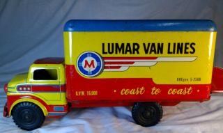 Marx Lumar Van Lines Coast to Coast Delivery Truck