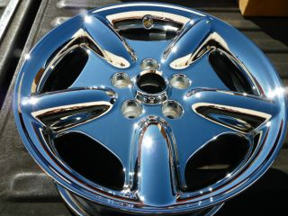 XK8 17 chrome factory wheel OEM rim XK new   H# 59689