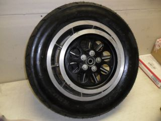 Harley Rear Rim Wheel Ultra Classic Disc and Tire Like New