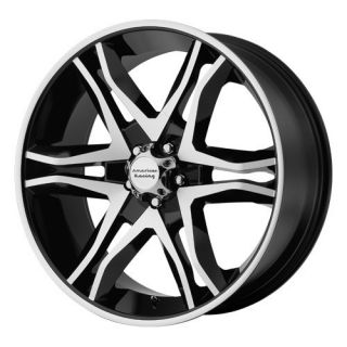 20 inch Black Mainline Wheels Rims 5x5 5 5x139 7 Dodge RAM 1500 Ford