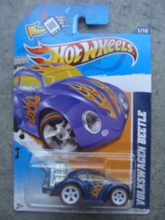 2012 Hot Wheels SUPER Treasure Hunt Heat Fleet #151 VOLKSWAGEN BEETLE