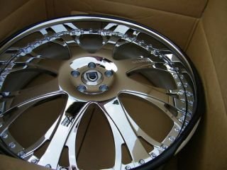 26 asanti 153 Rims Tires Range Rover BMW x5 Asanti