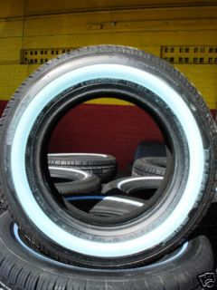 New 175 70 14 White Wall Tires Shaved 1 1 4 1757014