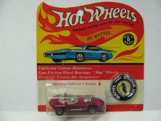 Hot Wheels Redline Silhouette Rose Blister Pack
