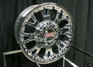 17 x 8 inch Chrome Moto Metal MO 956 MO956 Wheels Rims