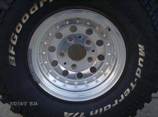 or 4x4 F150 Rims with BFG Mud Terrain Tires RARE Ford Wheels