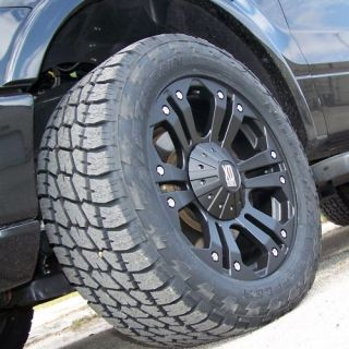 20 MONSTER WHEELS & NITTO TERRA GRAPPLER CHEVY TAHOE YUKON 1500 FORD