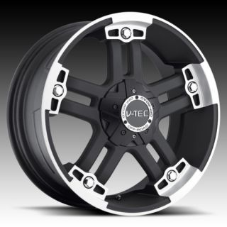 18 vtec 394 Black Wheels Rims Ford Excursion 2WD 4WD