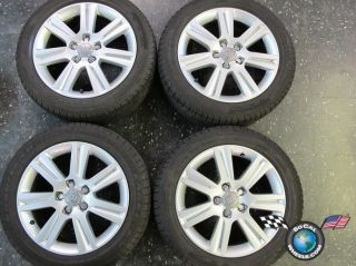 09 12 Audi A4 Factory 17 Wheels Tires Rims 58836 A3 8K0601025B
