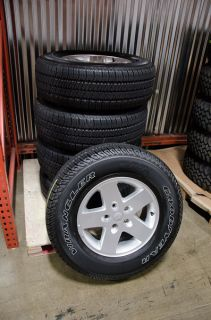 2013 OE Jeep Wrangler JK Sport Wheels and Tires. NEARLY NEW under 200