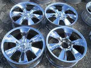 20 Limited Chrome Alloy Wheel Rim Set 6 Lug 5 5 LKQ