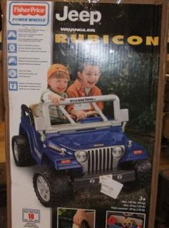 Fisher Price N3089 Power Wheels Jeep Wrangler Rubicon