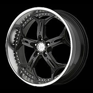 American Racing 83488052335 Helo Series 834 Black Wheel