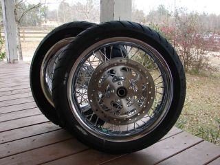 Davidson Street Glide FLHX Complete Set FRT RR Wheels and Tires