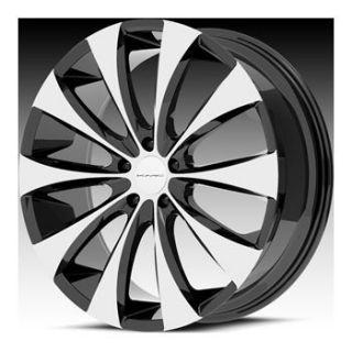 18 KMC Fader Wheel Set 18x8 rwd 5 6 Lug Vehicles