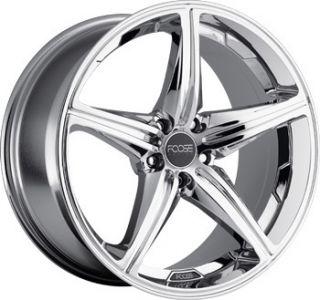 Speed Staggered Wheel Set 18x9 5 18x8 0 Chrome rwd 5 Lug Rims