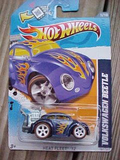 2012 Hot Wheels SUPER Treasure Hunt VOLKSWAGEN BEETLE 1 Heat Fleet RR