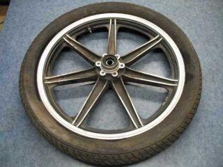 Front Wheel Tire Rim Hub 1981 Yamaha XS650 81 XS 650