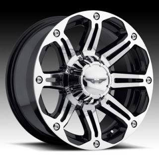 American Eagle Style 050 Wheels Rims 18x8 5 8x180mm Superfinish Black