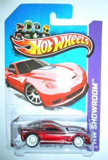 2012 Hot Wheels Super Treasure Hunt 09 Corvette ZR1 202 250