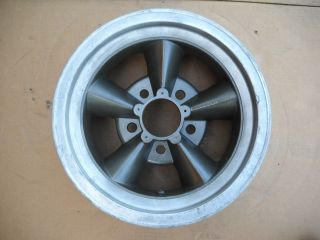 Nova Vintage Torq Thrust Style Aluminum Wheel 14 Mag Rim