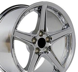 18 Rim Fits Mustang® Saleen Wheel Chrome 18x10