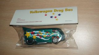 Hot Wheels 12th Nationals Convention   Volkswagen Drag Bus   green