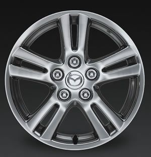 16 Polished Alloy Wheel Rim for 2004 2005 2006 Mazda MPV