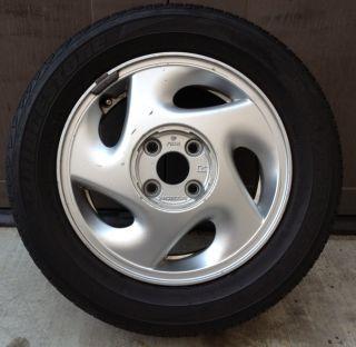 Honda CRX SI Civic Right Wheel Rim 185 60 14 Tire 4x100 Potenza