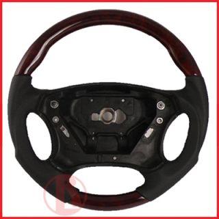 Mercedes W203 C Class Sport Steering Wheel V2 Wood C280