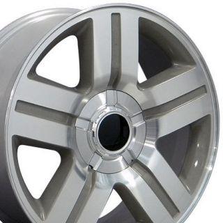 20 Rim Fits Chevrolet Texas Wheel Silver 20 x 8 5