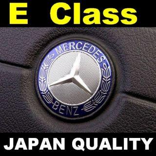 Mercedes Benz Blue Logo E Class Steering Wheel Emblem Horn Badge W212