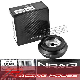 NRG Short Hub Steering Adapter 88 91 Honda Civic CRX 90 93 Integra New