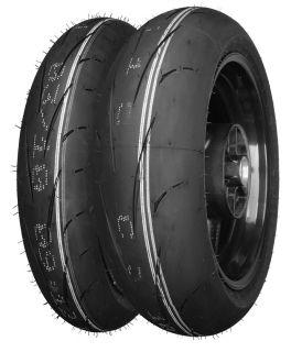 Dunlop Set D211GPA 120 190 Dot Approved Tires