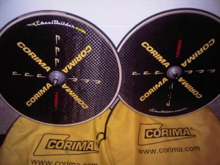 Corima Track Disc Wheels Front Rear Mavic Comete Zipp