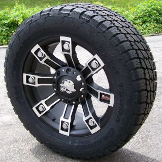 20 Procomp Metal Mulisha Wheels Nitto Terra Grapplers 8x180 Chevy GMC