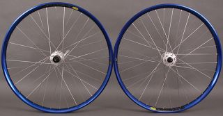 729 Shimano XT 6 bolt Disc Brake Mountain Bike Wheels 26 Wheelset Silv