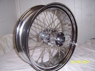 Spoke Wheel for Harley or Custom 18 x 5 5 for 180 or 200 Tire