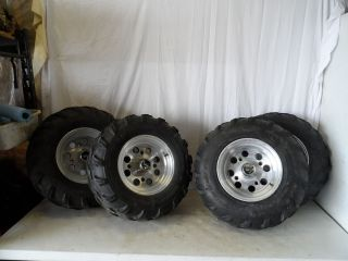 Sportsman 500 600 700 800 Front Rear Tires Aluninum Rims