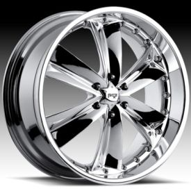 Shaz 6 Chrome Chevy GMC 26inch 6 Lug 6x5 5 Rims Wheels Tires