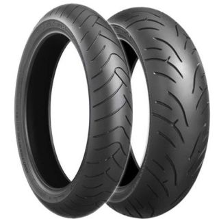 New Bridgestone BT023 BT 023 Front Rear Tires 120 190