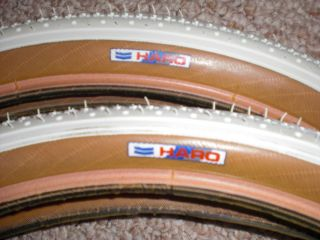 Haro Master Sport Freestyler vintage bmx tires fit Hutch GT MINT! 1980