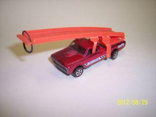 LQQK Hot Wheels Redline Sky Show Super Car with Original Stickers Pink