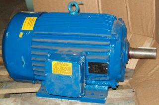 Electrim 5 HP 1155 RPM TEFC 215T 230 460 Electric Motor