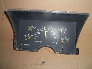 224 986 Miles Instrument Gauge Cluster Speedometer Gauges Chevy Truck